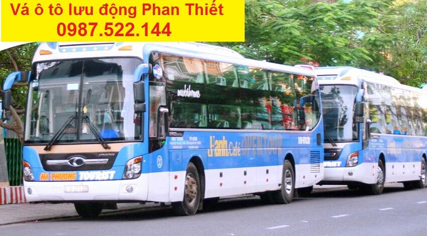 va oto luu dong Phan Thiet
